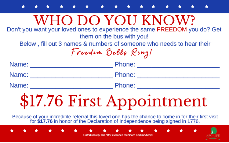 Chiropractic Bonita Springs FL Freedom Appointment